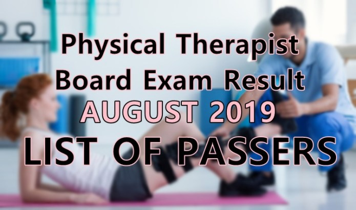 physical therapist board exam