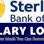 Sterling Bank Salary Loan
