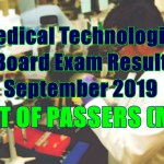 medical technologist passers m-z