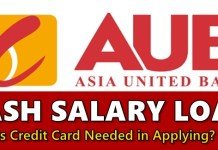 AUB Cash Salary Loan