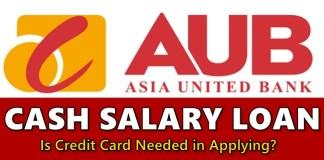AUB Cash Salary Loan