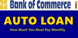 Bank of Commerce Auto Loan