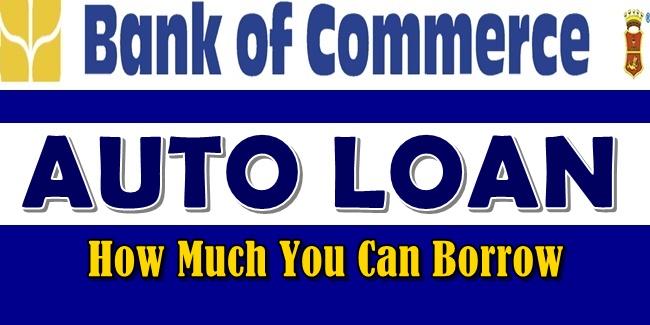 Bank of Commerce Auto Loan