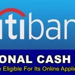 Citibank Personal Cash Loan