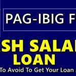 Pag-IBIG Cash Salary Loan