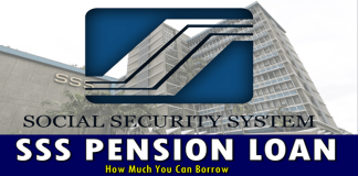 SSS Pension Loan Loanable Amount