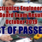 electronics engineer passers