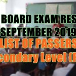 let board exam sec p-r