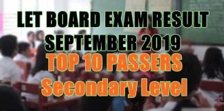 let board exam top 10 sec