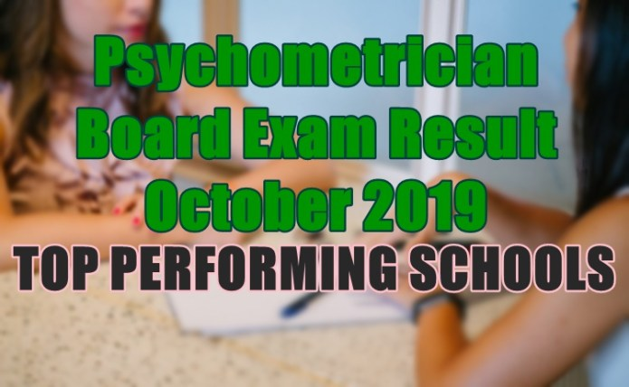 psychometrician top schools
