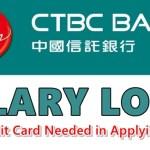 CTBC Bank Salary Loan