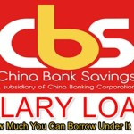 China Bank Salary Loan