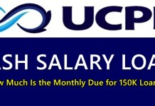 UCPB Cash Salary Loan