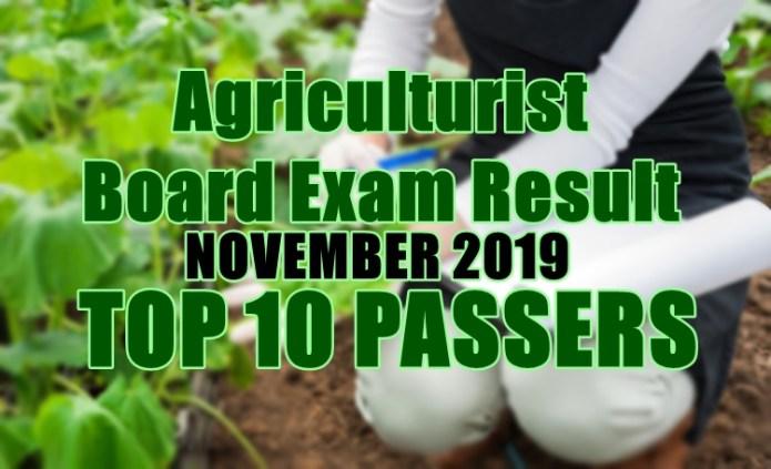 agriculturist top 10