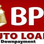 BPI Auto Loan Downpayment