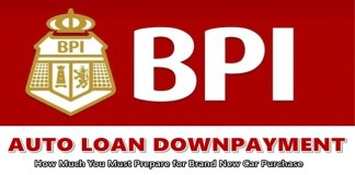 BPI Auto Loan Downpayment