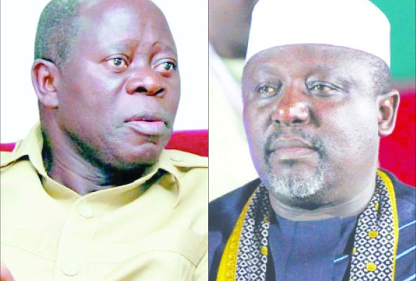 Image result for Oshiomhole destroying APC, may cost us five million votes – Okorocha