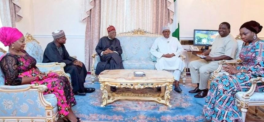 Buhari,Aides