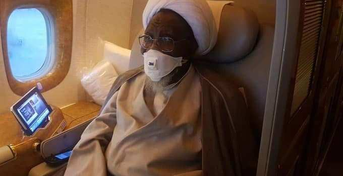 PHOTOS: El-Zakzaky Finally Departs To India For Medical Treatment