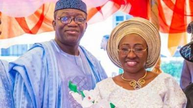 Fayemi Busy Fighting For Security Votes His Wife Lying About Killing Of Ekiti Students