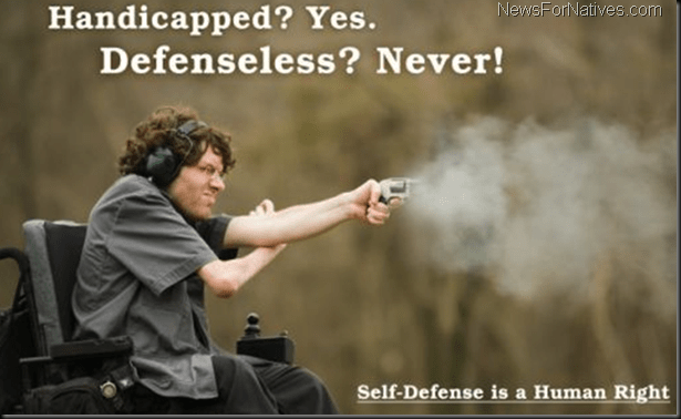 handicapped-gun-defensless-wheelchair-shooting-handicapped-yes-defenseless-never-disability-weapons