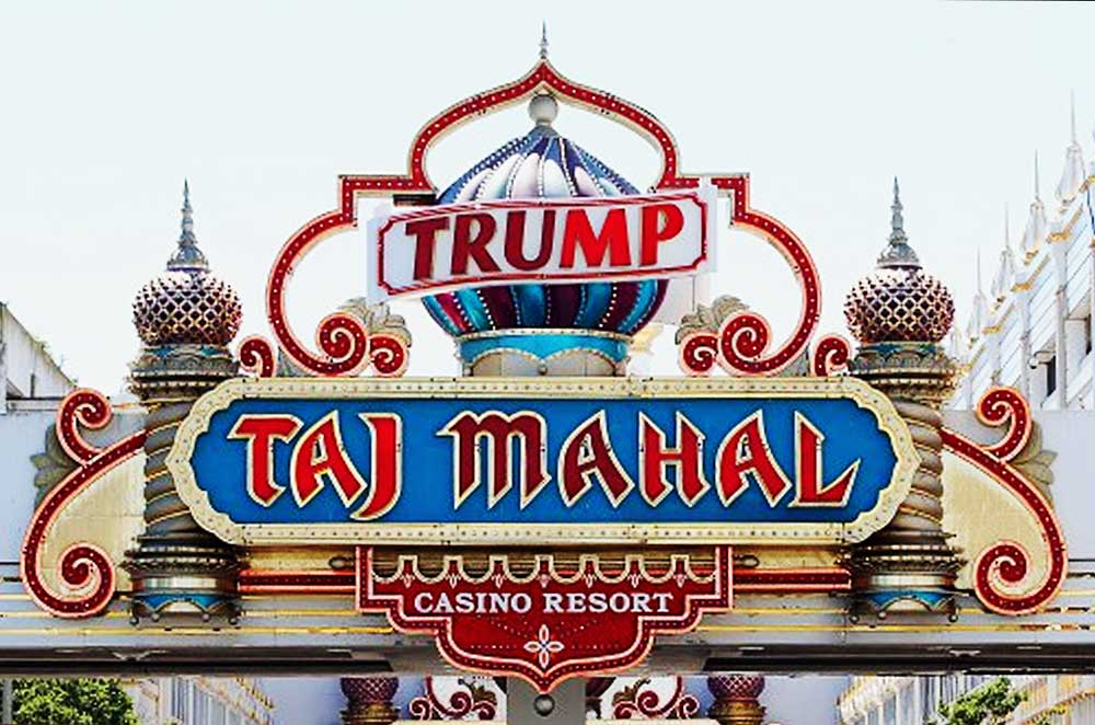 Donald Trump Atlantic City Taj Mahal Casino beautiful