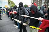 dangerous weapons is ANTIFA a political party are ANTIFA violent riot protestors