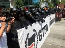 gtfo is ANTIFA a political party are ANTIFA violent riot protestors