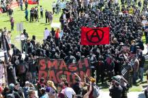 smash racism is ANTIFA a political party are ANTIFA violent riot protestors