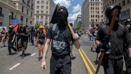 streets is ANTIFA a political party are ANTIFA violent riot protestors