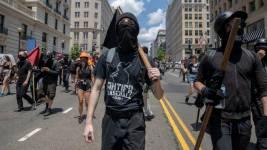 streets is ANTIFA a political party are ANTIFA violent riot protestors