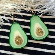 avocado earings