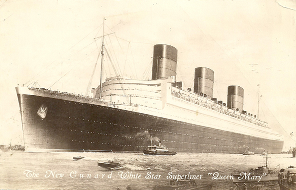 Haunting Tales: The RMS Queen Mary