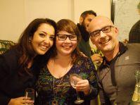 Sepideh, jag och John