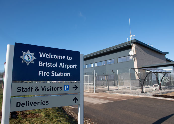 news from wales cardiff company provide bristol airport fire station