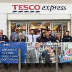 Cornelly set for shopping success with all-new Tesco Express Store