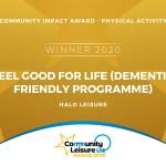 National Award for dementia-friendly activity programme in Bridgend County