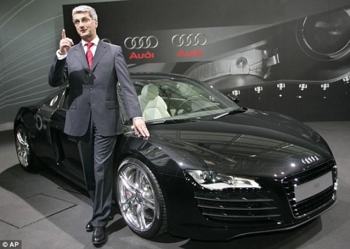 ऑडी के CEO बर्लिन में अरेस्ट, सॉफ्टवेयर से छिपाते थे कार का पॉल्यूशन