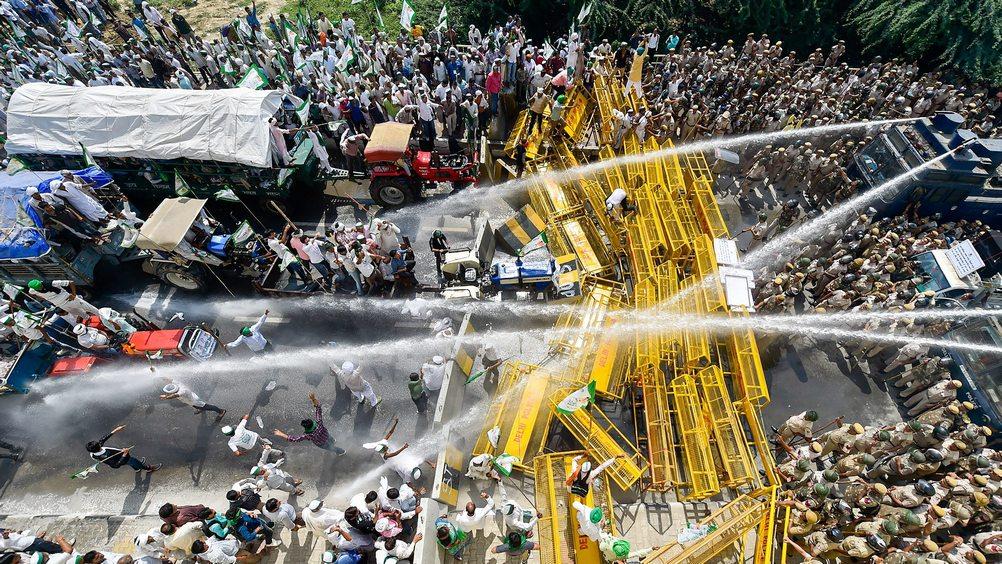 डेढ़ साल में तीसरी बार सड़कों पर उतरे किसान, नहीं पूरी हुई मांग, 'किसान क्रांति यात्रा' खत्म