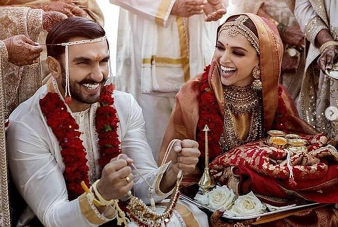 दीपिका-रणवीर की शादी का पहला एल्बम, बेहद खूबसूरत दिख रहे हैं दोनों