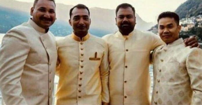 दीपिका-रणवीर की शादी में नहीं दिखे बड़े स्टार, शामिल हुए दोनों के बॉडीगार्ड-ड्राइवर
