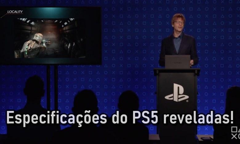 Divulgação de informações sobre o Playstation 5 dia 18/03/2020