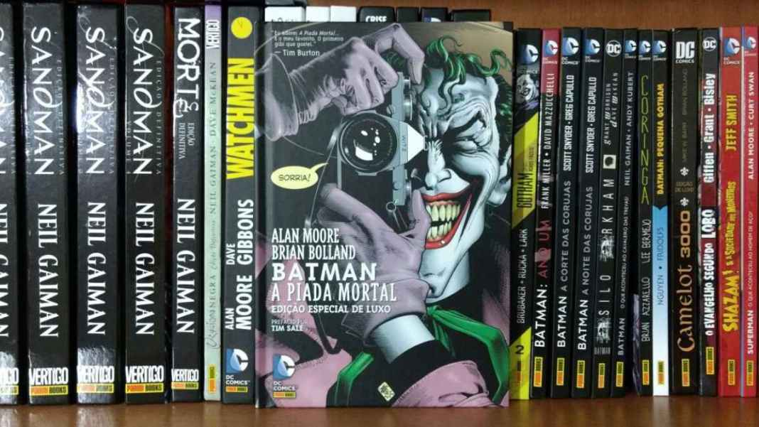 Histórias em Quadrinho de Alan Moore : Batman A Piada Mortal