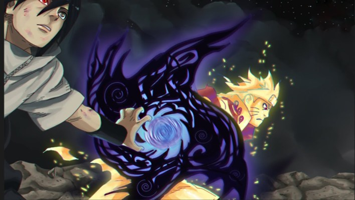2º Rasenshuriken com o Amaterasu