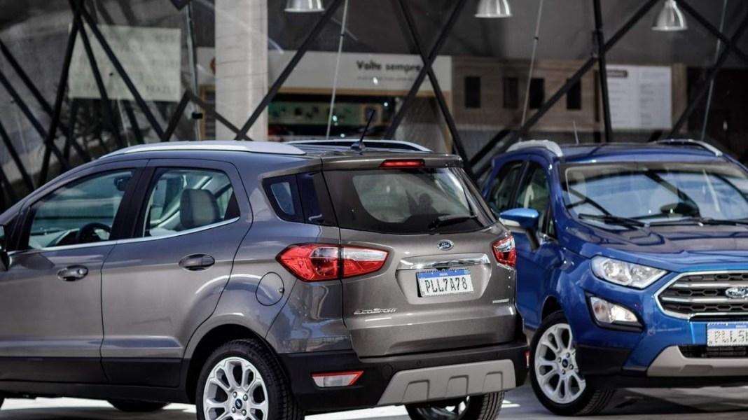 Top 10 de carros automáticos com valor de até 20 mil reais. Marca: Ecosport.