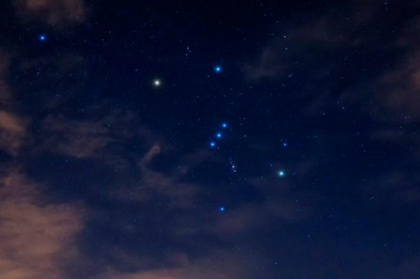 Cinturão de Orion - As Três Marias