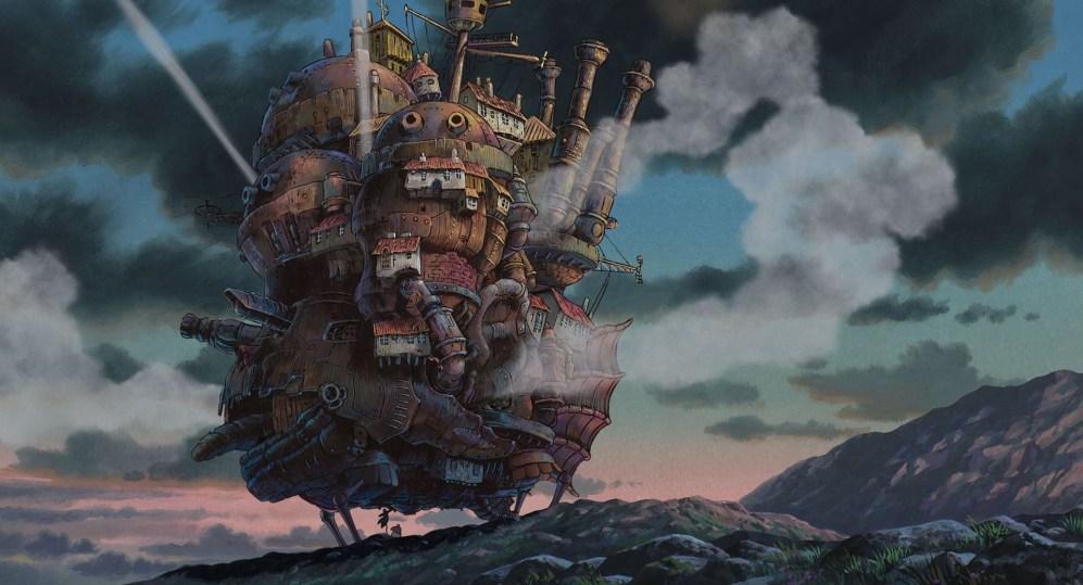 Maiores Bilheterias de Filmes de Animes - O Castelo Animado