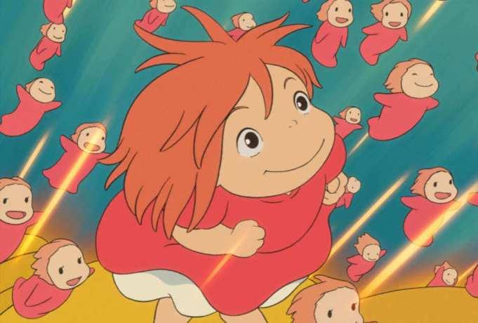 Maiores Bilheterias de Filmes de Animes - Ponyo