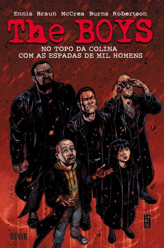 The Boys – Volume 11 – No Topo da Colina com as Espadas de Mil Homens