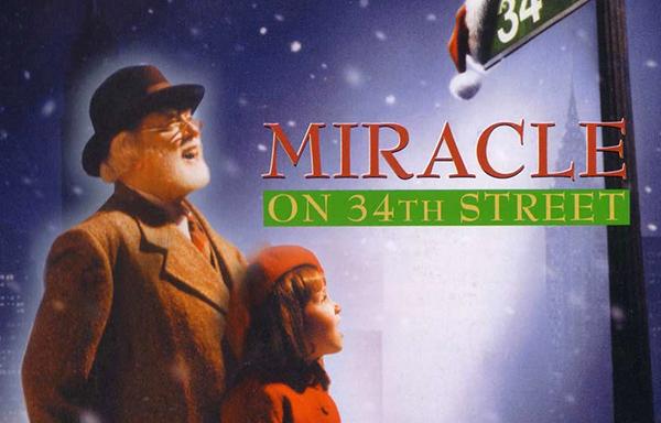 O Milagre da Rua 34 - Filmes de Natal